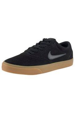 nike sb sneakers »charge suede skate« zwart