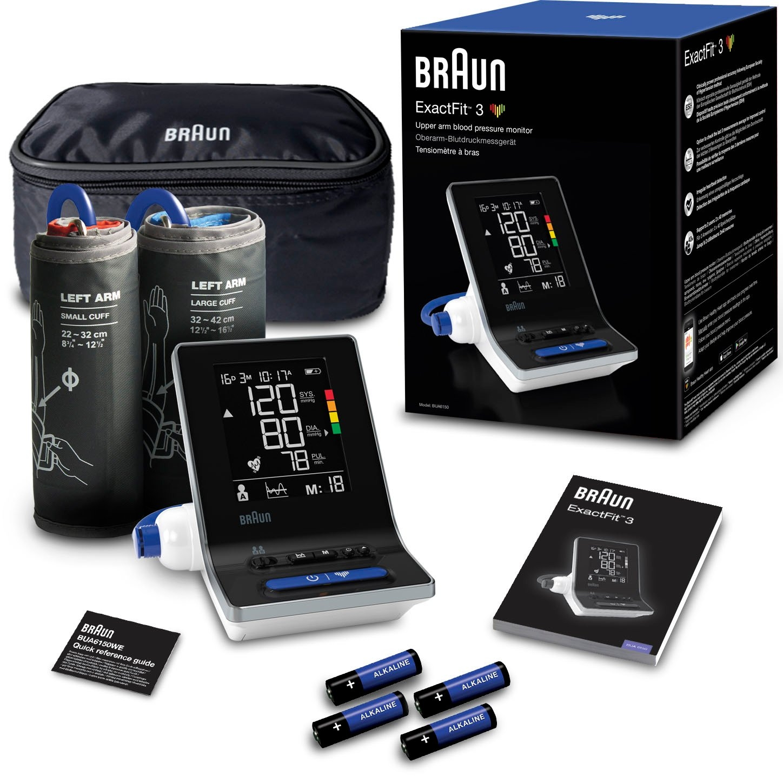 Braun bovenarm-bloeddrukmeter ExactFit 3 BUA6150 - gratis ruilen op otto.nl