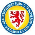 wall-art wandfolie eintracht brunswijk logo (1 stuk) multicolor