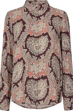 soyaconcept gedessineerde blouse »sc-lucinda2« bruin