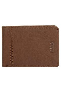 mano portemonnee don montez tweevoudig inklapbaar (1-delig) bruin