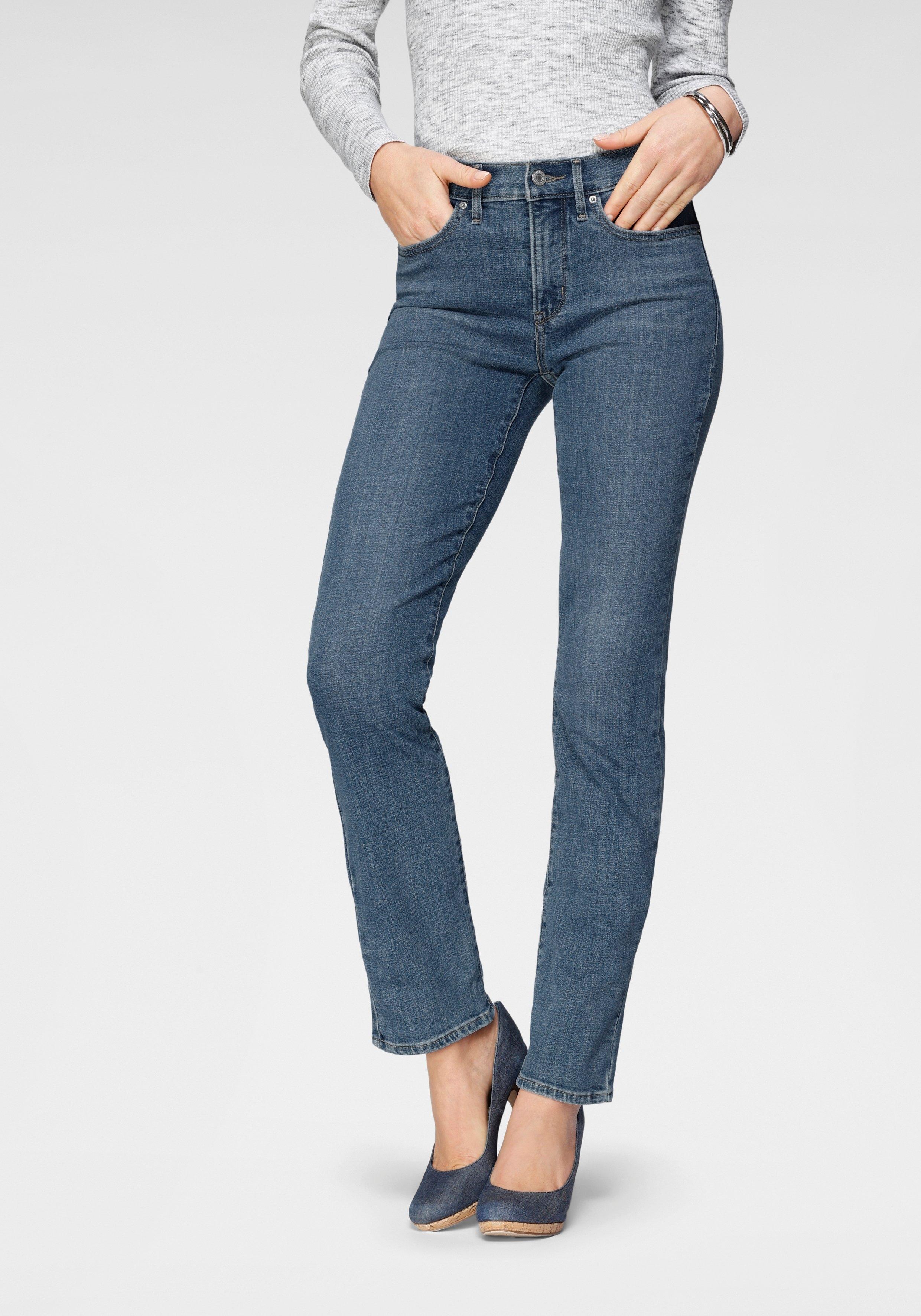 LEVI'S rechte jeans »314 Shaping Straight« goedkoop op otto.nl kopen