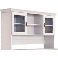 home affaire opzetkast ruegen van massief hout, alleen de opzetkast, hoogte 85 cm. wit