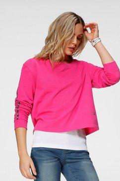h.i.s sweatshirt roze