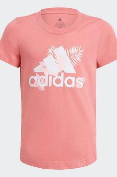 adidas performance t-shirt tropical sport graphic roze