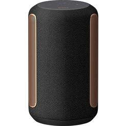 sony multiroom-luidspreker srs-ra3000 vochtbestendig premium voor kamervullende klank met 360 reality audio, draadloos zwart