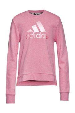 adidas performance sweatshirt girls batch of sports crew roze