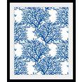 queence wanddecoratie marc (1 stuk) blauw