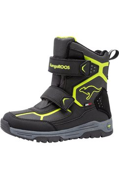 kangaroos outdoor winterlaarzen »k-trooper v rtx« zwart