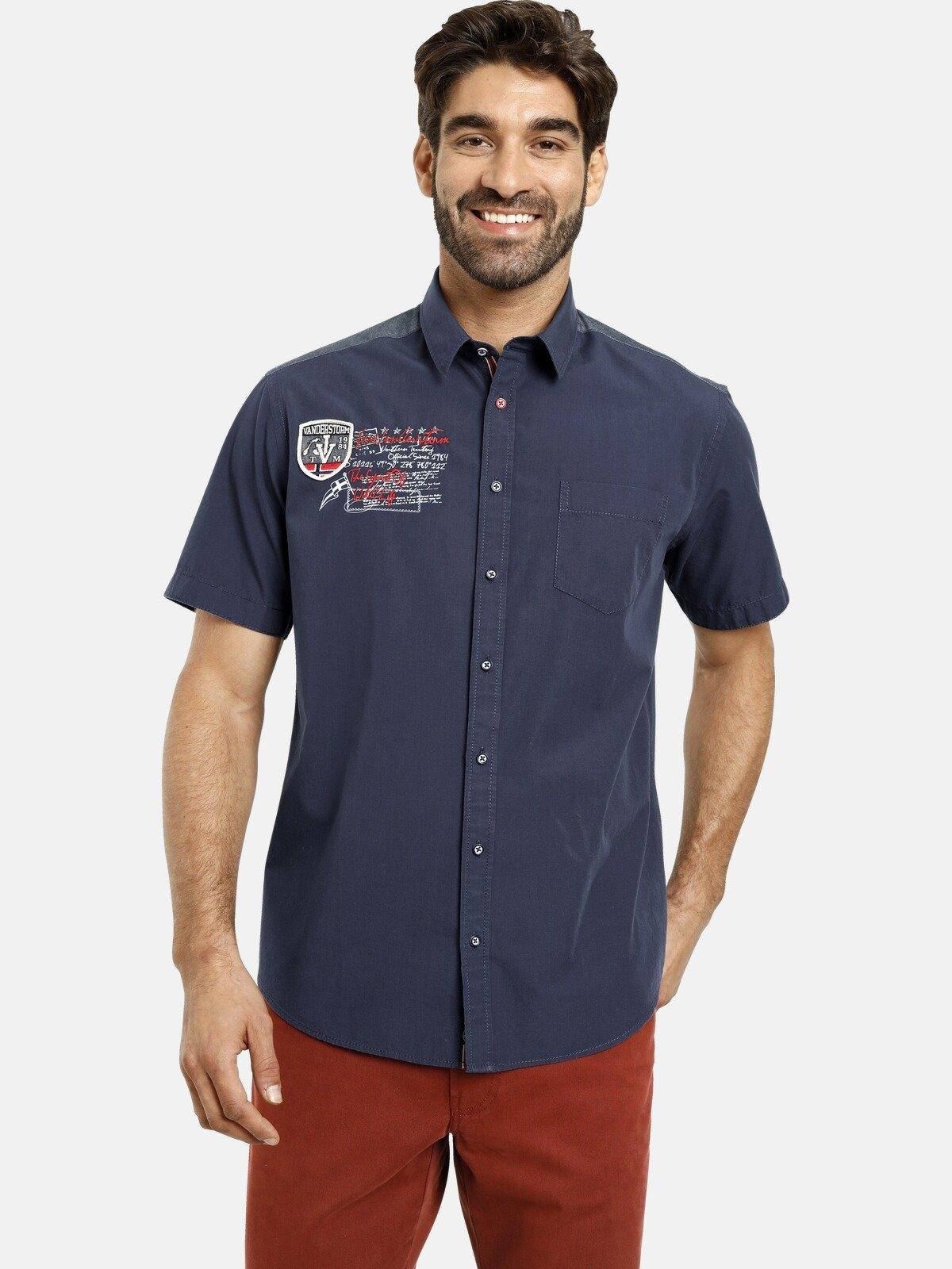Jan Vanderstorm overhemd met korte mouwen Jess met luxueuze applicaties bij OTTO online kopen