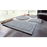 badmat »kapra«, home affaire, hoogte 20 mm, geschikt voor vloerverwarming slijtvast, keerbaar zilver