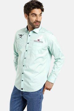 jan vanderstorm overhemd met lange mouwen »jalo« groen