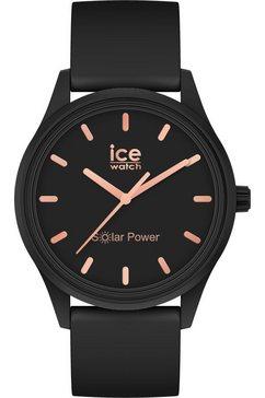 ice-watch solarhorloge »ice solar power, 18476« zwart