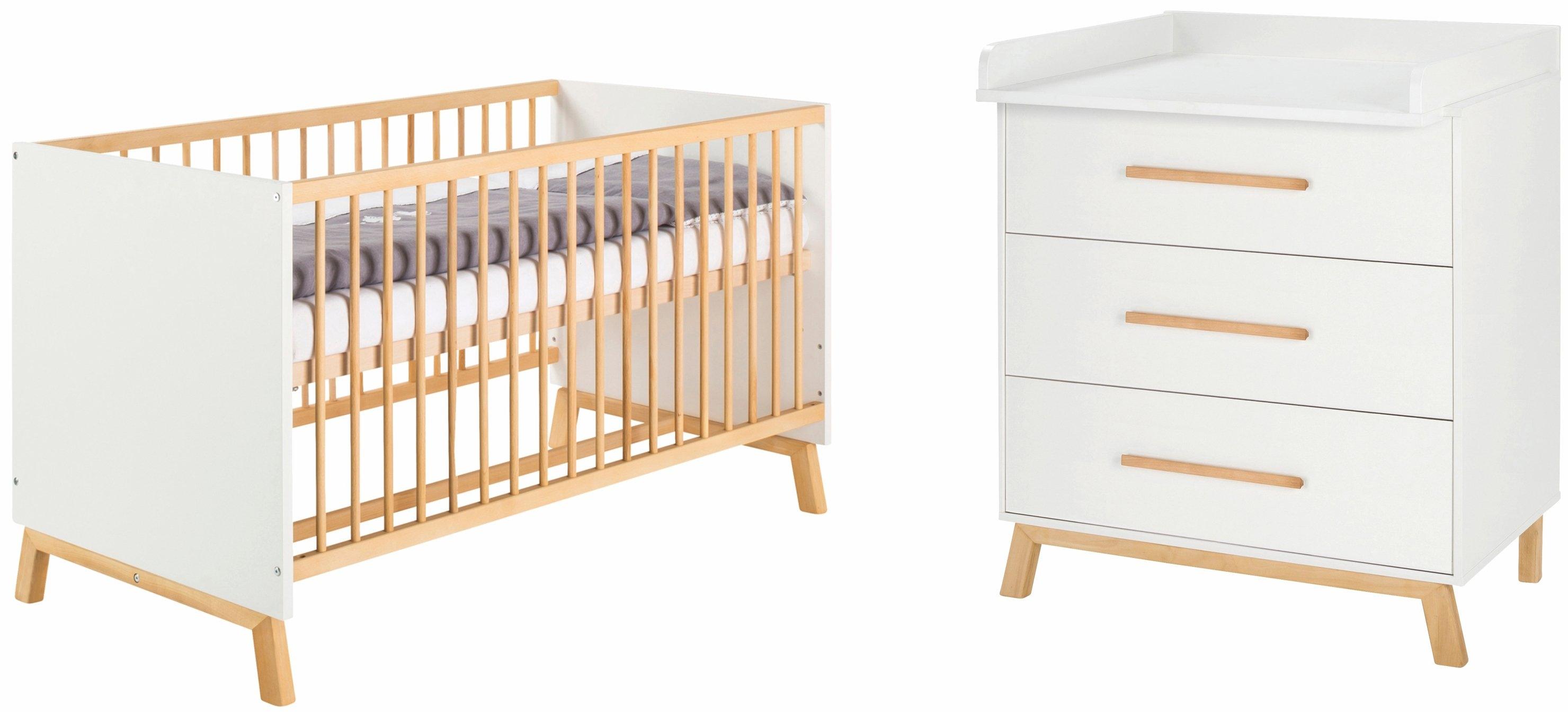 Schardt babymeubelset Sienna White met kinderbed en commode; made in germany (voordeelset, 2 stuks) nu online kopen bij OTTO
