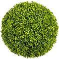 creativ green kunstplant buxusbol (1 stuk) groen