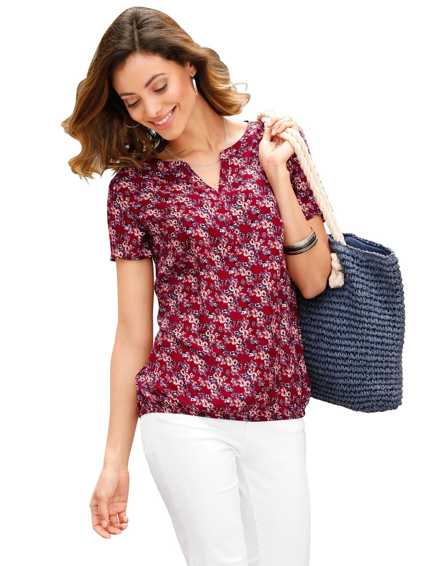 Op zoek naar een Classic Inspirationen blouse in zomers lichte kwaliteit? Koop online bij OTTO