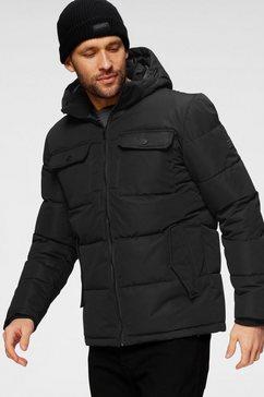 jack  jones gewatteerde jas ronald puffer zwart