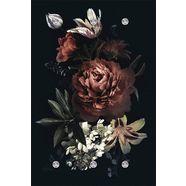 queence kapstok »blumen« multicolor