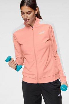 puma trainingspak »baseball tricot suit cl« roze