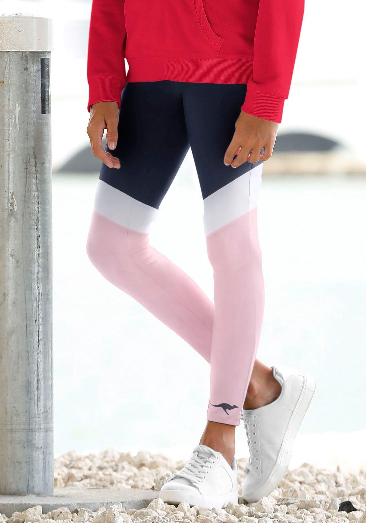 Op zoek naar een KangaROOS legging met mooie contrastinzetten? Koop online bij OTTO