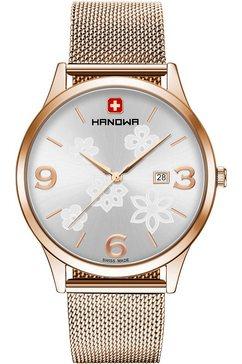 hanowa zwitsers horloge nature, 16-3085.09.001 goud