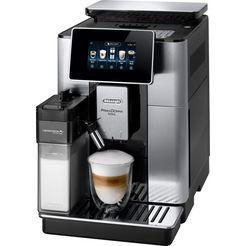 de'longhi volautomatisch koffiezetapparaat primadonna soul ecam 610.75.mb met koffiekanfunctie, zilver, inclusief koffiepot t.w.v. € 29,99 zilver