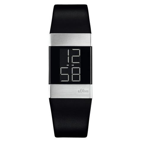 s.Oliver Digitaal horloge Zwart