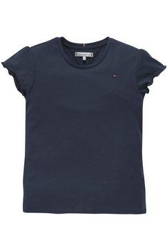 tommy hilfiger t-shirt met kapmouwtjes blauw
