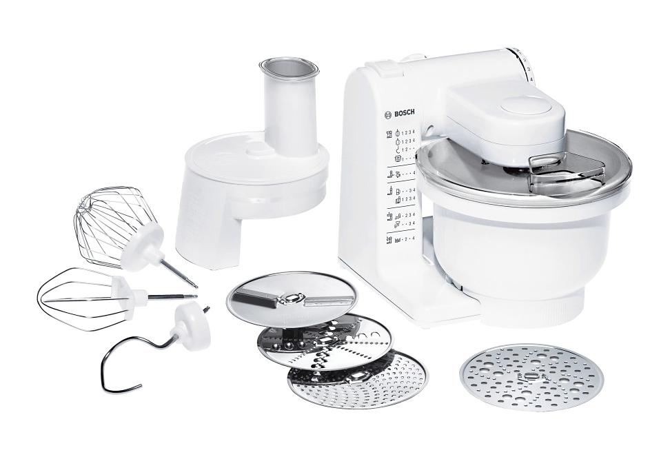 Bosch Keukenmachine MUM4427, wit / geel nu online bestellen