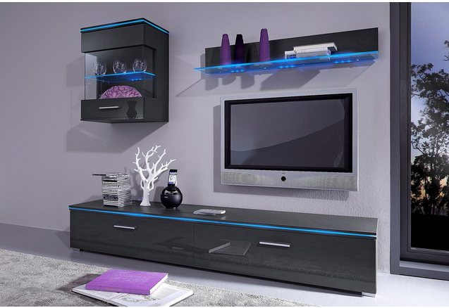 tv lowboard van 120 cm of 180 cm breed online shoppen otto. Black Bedroom Furniture Sets. Home Design Ideas