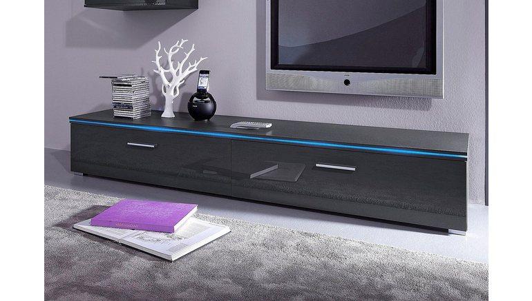 tv lowboard van 120 cm of 180 cm breed online shoppen otto. Black Bedroom Furniture Sets. Home Design Ideas