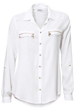 overhemdblouse wit