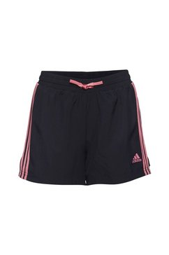 adidas performance functionele short »adidas designed to move 3-streifen« blauw