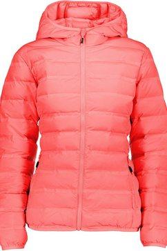 cmp gewatteerde jas rood