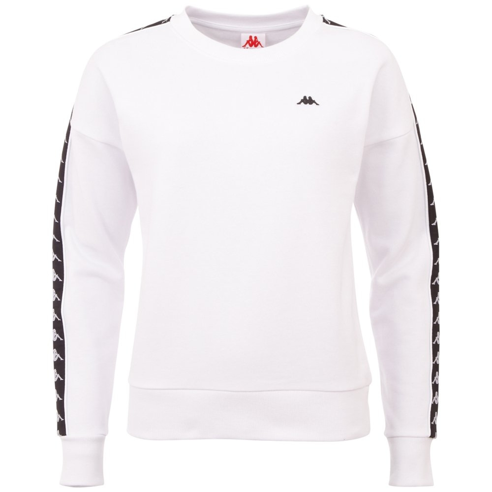 Kappa sweatshirt HANKA met hoogwaardige jacquard logo weefband veilig op otto.nl kopen