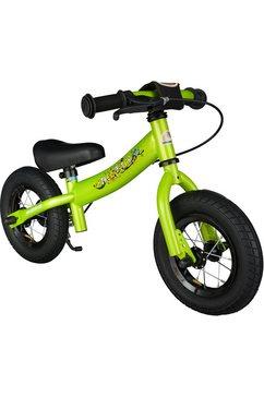 bikestar »bikestar kinderlaufrad sport ab 2 jahre mit bremse« loopfiets groen