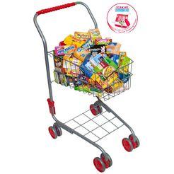 tanner winkelwagen met boodschappen multicolor