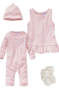 klitzeklein newborn-cadeauset »sporty sparkle« roze