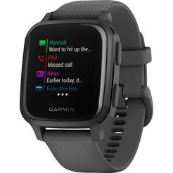 garmin smartwatch venu sq grijs