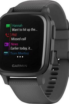 garmin »venu sq« smartwatch grijs