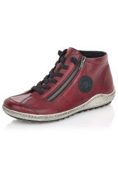 remonte sneakers met rits aan de buitenkant rood