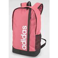 adidas performance »linear backpack« sportrugzak roze
