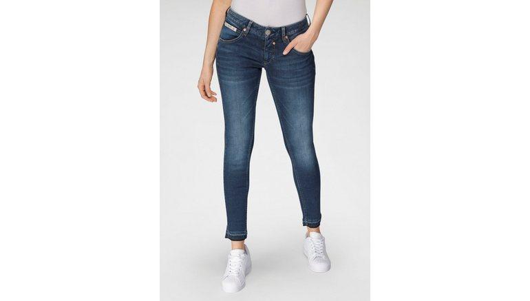 Herrlicher 7/8 jeans TOUCH CROPPED REUSED milieuvriendelijk dankzij de isko new technology