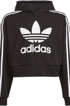 adidas originals sweatshirt cropped adicolor originals junior loose unisex zwart