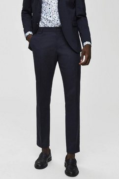selected homme pantalon blauw