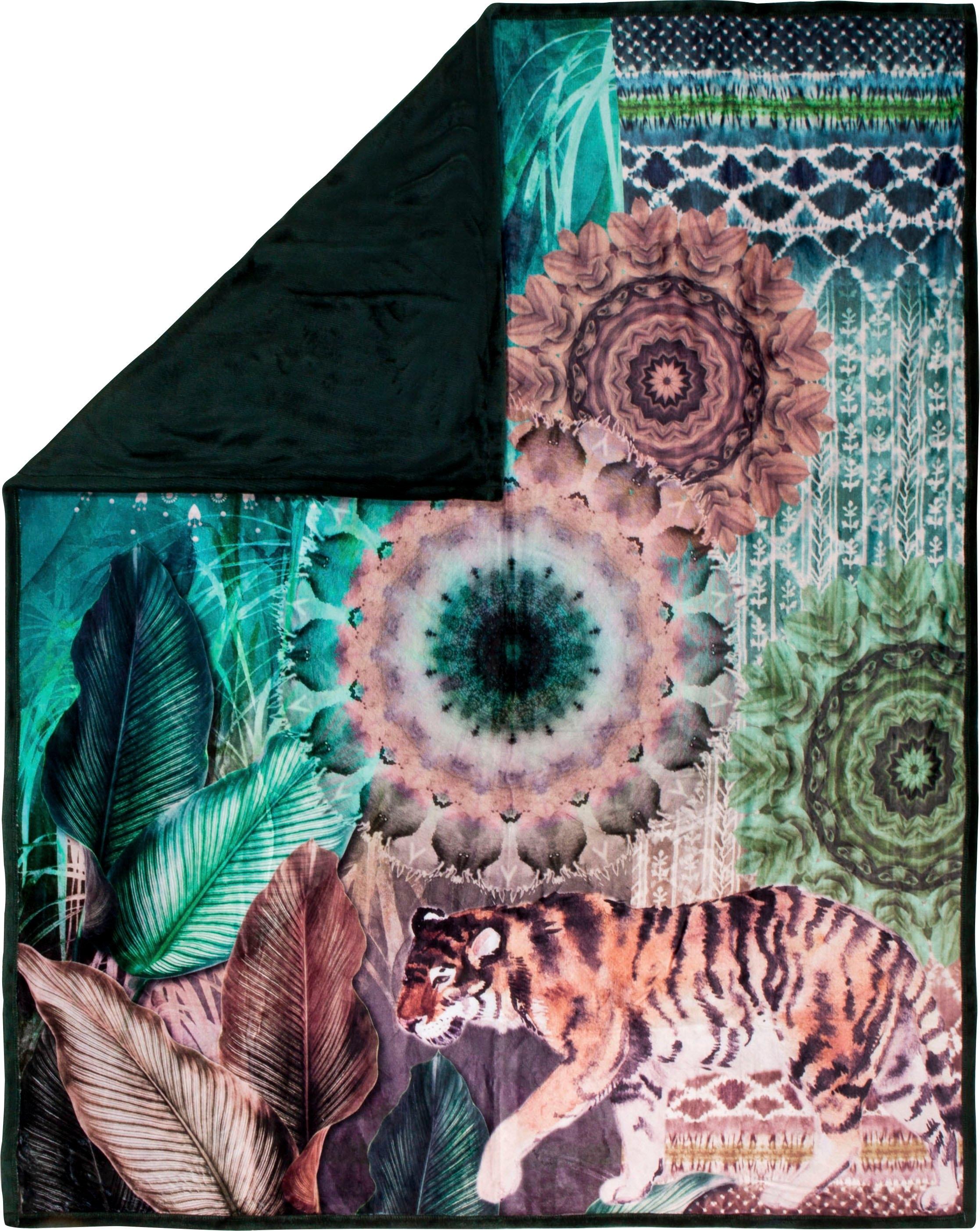 hip plaid Yukon met mandala en tijger veilig op otto.nl kopen