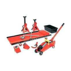 brueder mannesmann werkzeuge krik (10-delig) (set) rood