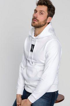 calvin klein hoodie »ckj kap.sweatshirt small logo hoodie« wit