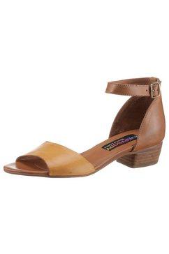 everybody sandaaltjes jennifer in een harmonieuze kleurencombinatie bruin