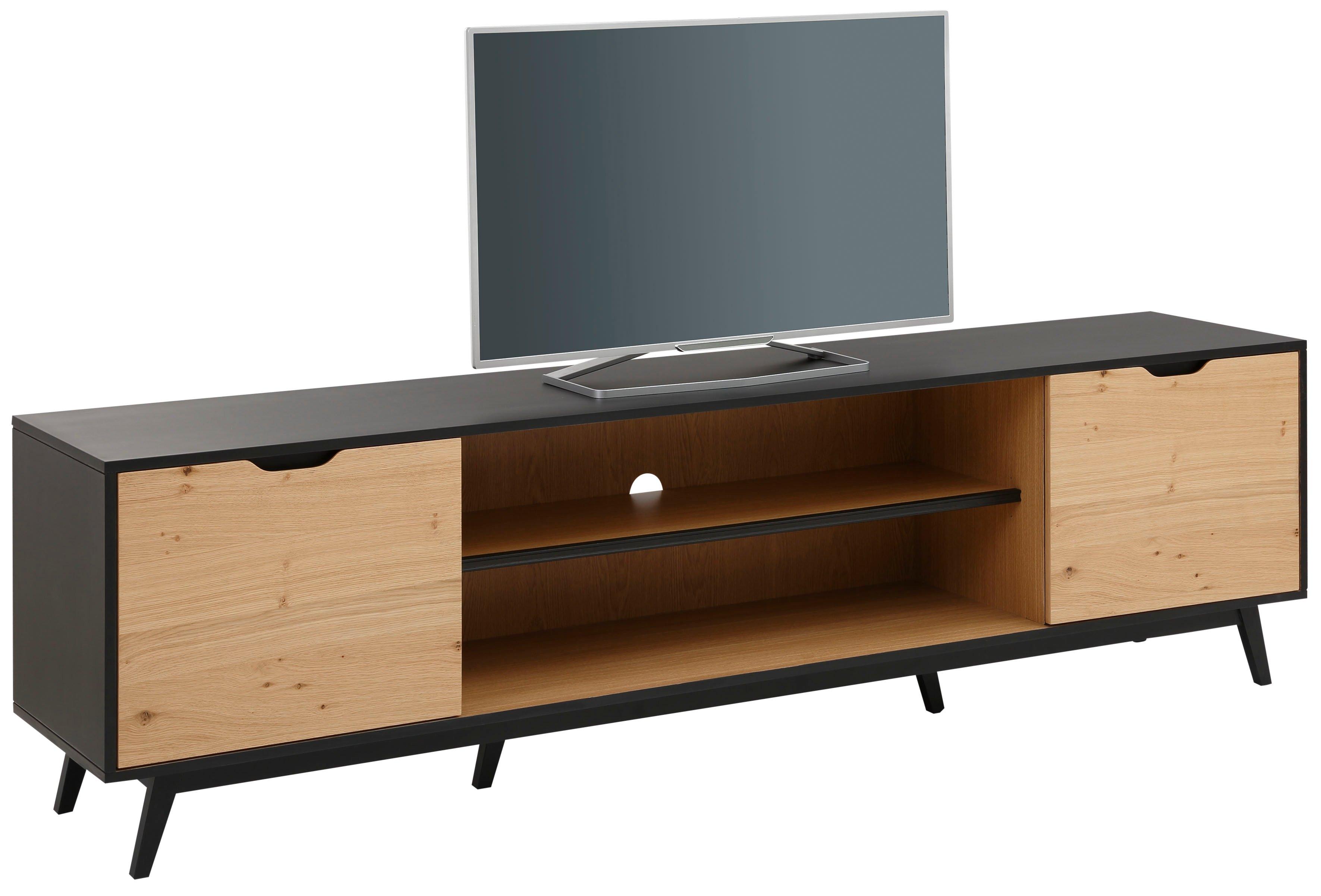 Home affaire tv-meubel FLOW met twee vakken, twee deuren en een mooie hout-look goedkoop op otto.nl kopen